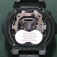 g ショック 電池 交換